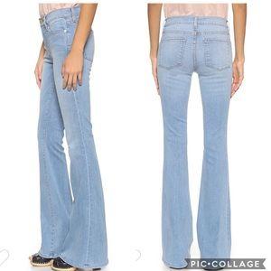 EUC Frame Le High Flare Jeans in Lovella